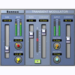 Oxford Transient Modulator HD-HDX and Native