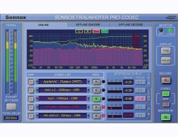 Sonnox Fraunhofer Pro-Codec Native