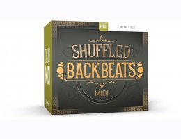 Shuffled Backbeats MIDI
