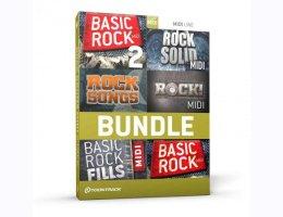 Rock Drums MIDI 6 Pack