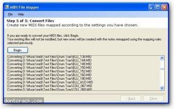 Mark Heath MIDI File Mapper