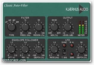 Kjaerhus Audio Classic Auto-Filter
