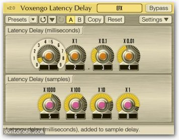 Voxengo Latency Delay