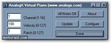 AnalogX AnalogX Virtual Piano