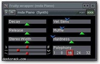 MDA-VST Piano