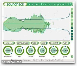 SoundHack Spectral Shapers