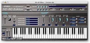 Edirol SD-80 Editor