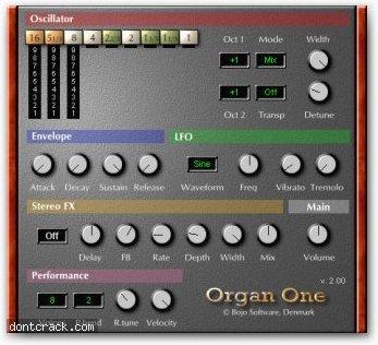 Bojo Software Organ One