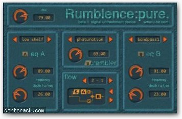 Urs Heckmann (u-he) Rumblence
