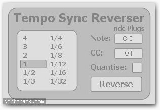 Ndc Plugs Tempo Sync Reverser
