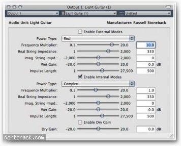 Light Guitar Light Guitar Audio Plug-in