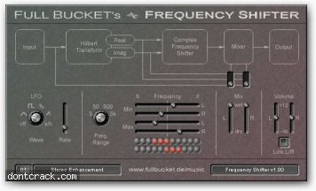 Full bucket Frequency shifter