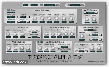 Mastrcode Music Alpha TS