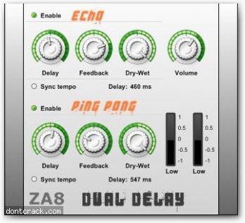 plugin vst delai gratuit; ZA8
