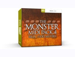 Monster MIDI Pack 4 Fills Odd Meters