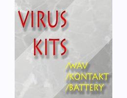 Virus Kits WAV for Battery and Kontakt