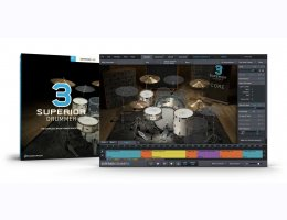 SUPERIOR DRUMMER 3 CROSSGRADE FROM EZDRUMMER