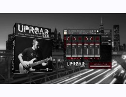 Uproar Vol. 2 - 8 String Guitar For Kontakt