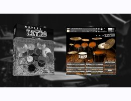 Modern Retro Drums For Kontakt