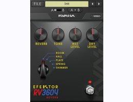 EFEKTOR RV3604 REVERB
