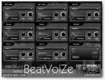 DSK Music DSK DrumZ BeatVoiZe