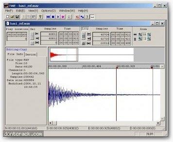 Yamaha TWE Wave Editor
