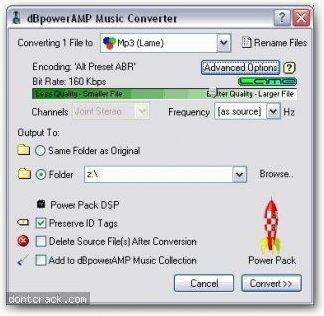 Illustrate dBpowerAMP Music Converter