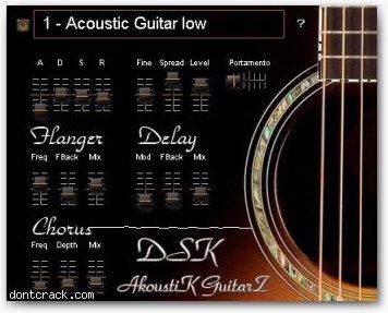 DSK Music DSK AkoustiK GuitarZ