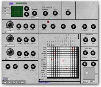 Paul Le Secq Matrix Synth