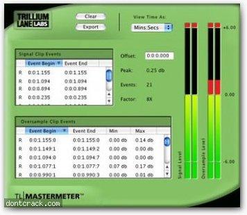 Avid TL MasterMeter