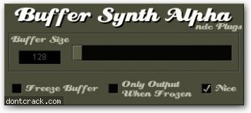 Ndc Plugs Buffer Synth Alpha
