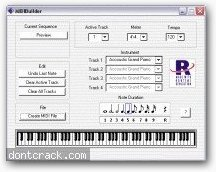 Useful Software MIDI Builder