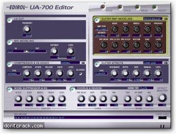 Edirol UA-700 Editor
