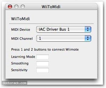Mike Verdone WII2midi