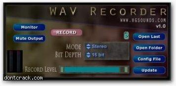 Homegrown Sounds HGS WAV Recorder