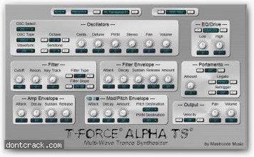 T-Force T-force Alpha TS